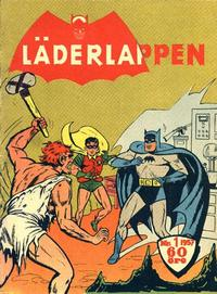 Cover Thumbnail for Läderlappen (Centerförlaget, 1956 series) #1/1957