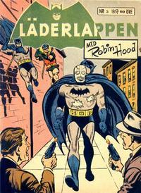 Cover Thumbnail for Läderlappen (Centerförlaget, 1956 series) #5/1957