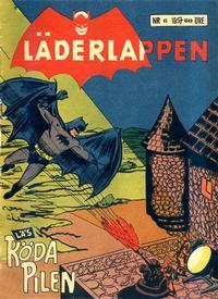 Cover Thumbnail for Läderlappen (Centerförlaget, 1956 series) #6/1957