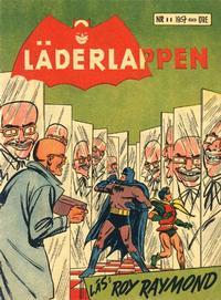 Cover Thumbnail for Läderlappen (Centerförlaget, 1956 series) #11/1957