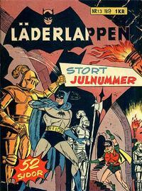 Cover Thumbnail for Läderlappen (Centerförlaget, 1956 series) #13/1957
