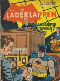 Cover Thumbnail for Läderlappen (Centerförlaget, 1956 series) #4/1958