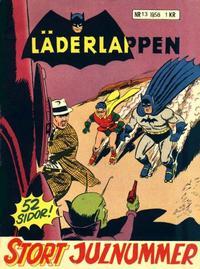 Cover Thumbnail for Läderlappen (Centerförlaget, 1956 series) #13/1958