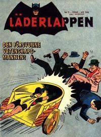 Cover Thumbnail for Läderlappen (Centerförlaget, 1956 series) #5/1960