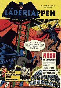 Cover Thumbnail for Läderlappen (Centerförlaget, 1956 series) #6/1963
