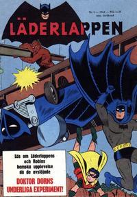 Cover Thumbnail for Läderlappen (Centerförlaget, 1956 series) #1/1964