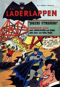 Cover Thumbnail for Läderlappen (Centerförlaget, 1956 series) #2/1964