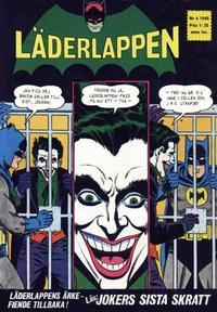 Cover Thumbnail for Läderlappen (Centerförlaget, 1956 series) #6/1965