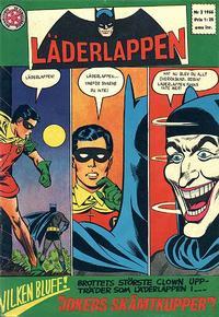Cover Thumbnail for Läderlappen (Centerförlaget, 1956 series) #2/1966