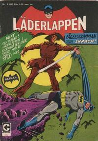 Cover Thumbnail for Läderlappen (Centerförlaget, 1956 series) #6/1967