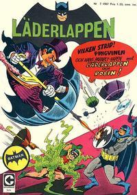 Cover Thumbnail for Läderlappen (Centerförlaget, 1956 series) #7/1967