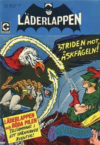 Cover Thumbnail for Läderlappen (Centerförlaget, 1956 series) #9/1967