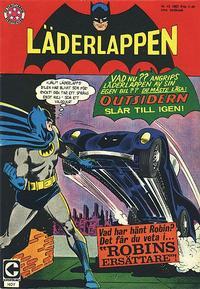 Cover Thumbnail for Läderlappen (Centerförlaget, 1956 series) #12/1967