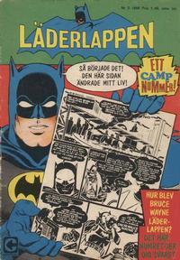 Cover Thumbnail for Läderlappen (Centerförlaget, 1956 series) #5/1968
