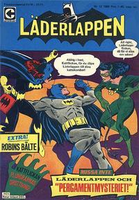 Cover Thumbnail for Läderlappen (Centerförlaget, 1956 series) #12/1968