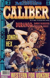 Cover Thumbnail for Caliber (Semic, 1994 series) #5/1994