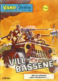 Cover Thumbnail for Kamp-serien (Serieforlaget / Se-Bladene / Stabenfeldt, 1964 series) #42/1965