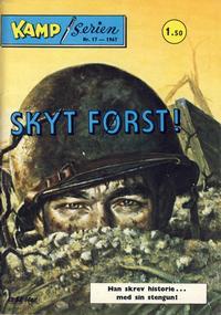 Cover Thumbnail for Kamp-serien (Serieforlaget / Se-Bladene / Stabenfeldt, 1964 series) #17/1967