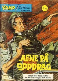 Cover Thumbnail for Kamp-serien (Serieforlaget / Se-Bladene / Stabenfeldt, 1964 series) #49/1969
