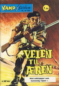 Cover Thumbnail for Kamp-serien (Serieforlaget / Se-Bladene / Stabenfeldt, 1964 series) #10/1970
