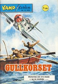 Cover Thumbnail for Kamp-serien (Serieforlaget / Se-Bladene / Stabenfeldt, 1964 series) #12/1970