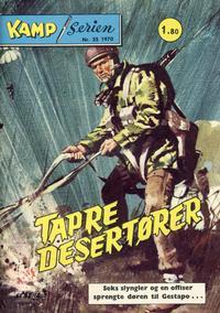 Cover Thumbnail for Kamp-serien (Serieforlaget / Se-Bladene / Stabenfeldt, 1964 series) #35/1970