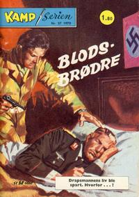 Cover Thumbnail for Kamp-serien (Serieforlaget / Se-Bladene / Stabenfeldt, 1964 series) #37/1970