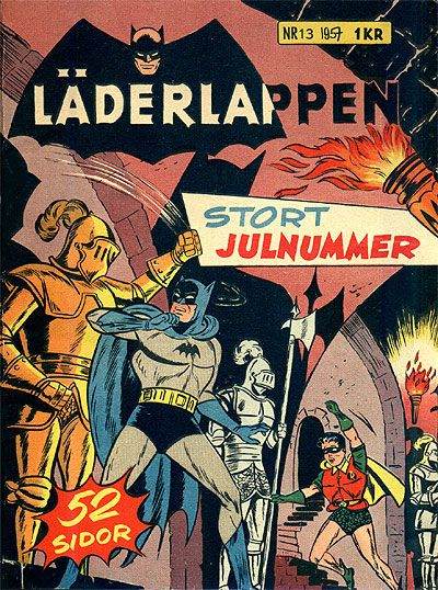 Cover for Läderlappen (Centerförlaget, 1956 series) #13/1957
