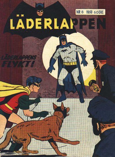 Cover for Läderlappen (Centerförlaget, 1956 series) #8/1959
