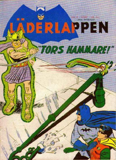 Cover for Läderlappen (Centerförlaget, 1956 series) #4/1960