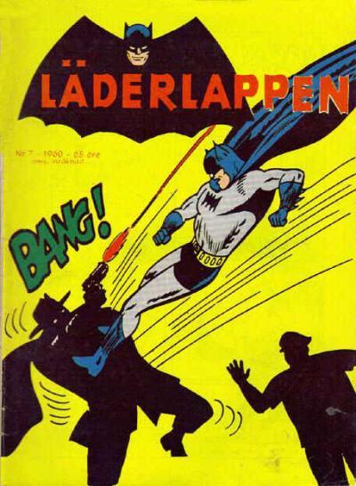 Cover for Läderlappen (Centerförlaget, 1956 series) #7/1960
