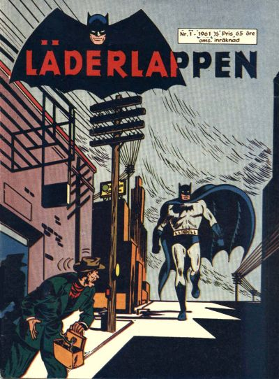 Cover for Läderlappen (Centerförlaget, 1956 series) #1/1961