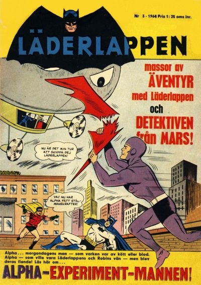 Cover for Läderlappen (Centerförlaget, 1956 series) #3/1964