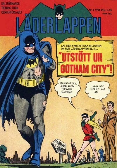 Cover for Läderlappen (Centerförlaget, 1956 series) #6/1964