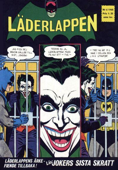 Cover for Läderlappen (Centerförlaget, 1956 series) #6/1965