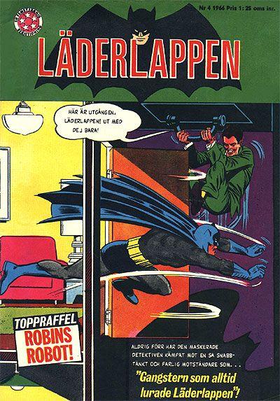 Cover for Läderlappen (Centerförlaget, 1956 series) #4/1966