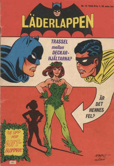 Cover for Läderlappen (Centerförlaget, 1956 series) #13/1966