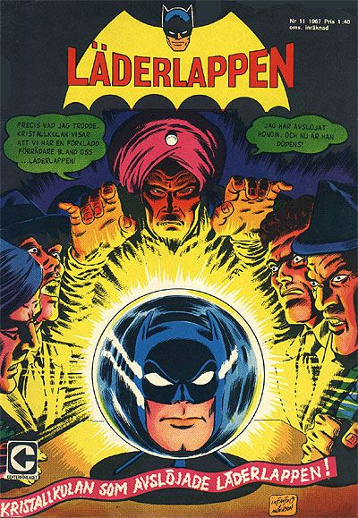 Cover for Läderlappen (Centerförlaget, 1956 series) #11/1967
