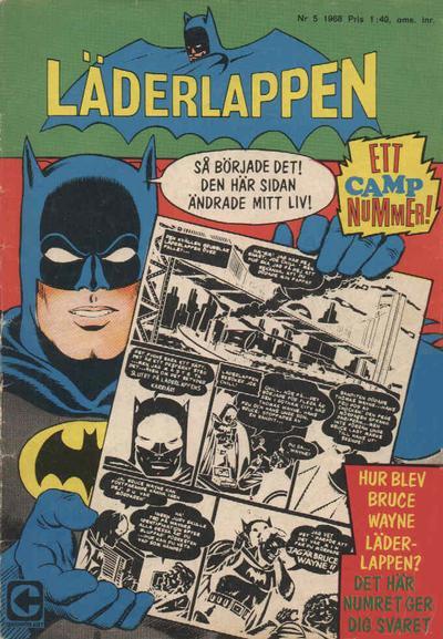 Cover for Läderlappen (Centerförlaget, 1956 series) #5/1968
