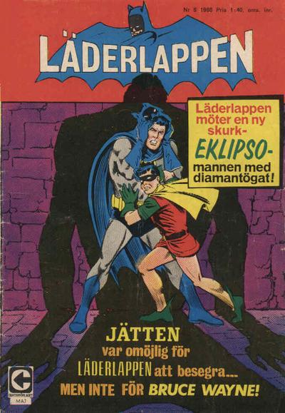 Cover for Läderlappen (Centerförlaget, 1956 series) #6/1968