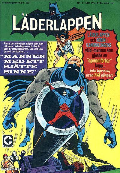 Cover for Läderlappen (Centerförlaget, 1956 series) #1/1969
