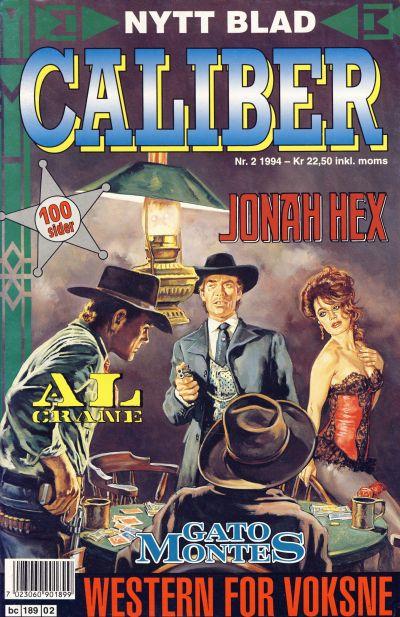 Cover for Caliber (Semic, 1994 series) #2/1994