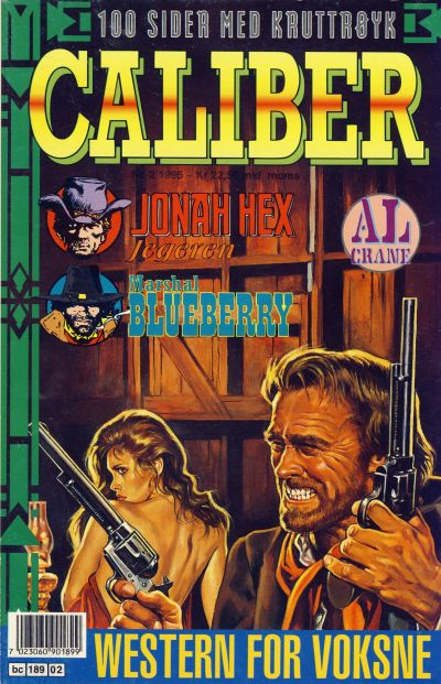 Cover for Caliber (Semic, 1994 series) #2/1995