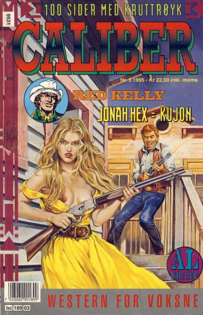 Cover for Caliber (Semic, 1994 series) #3/1995