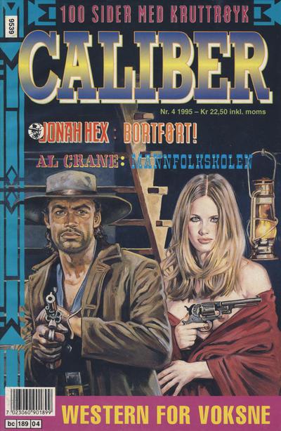 Cover for Caliber (Semic, 1994 series) #4/1995
