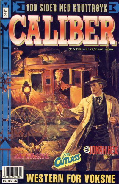Cover for Caliber (Semic, 1994 series) #5/1995