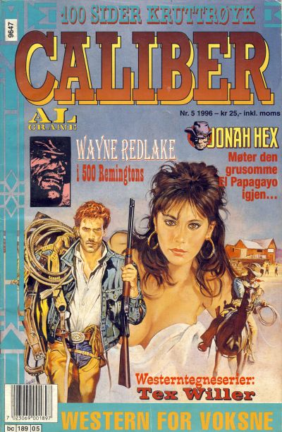 Cover for Caliber (Semic, 1994 series) #5/1996