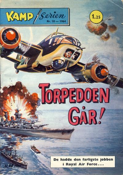 Cover for Kamp-serien (Serieforlaget / Se-Bladene / Stabenfeldt, 1964 series) #10/1964