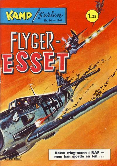 Cover for Kamp-serien (Serieforlaget / Se-Bladene / Stabenfeldt, 1964 series) #34/1964