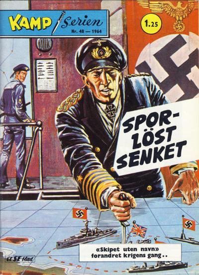 Cover for Kamp-serien (Serieforlaget / Se-Bladene / Stabenfeldt, 1964 series) #48/1964
